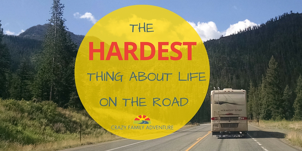 The Hardest Thing About Life On The Road