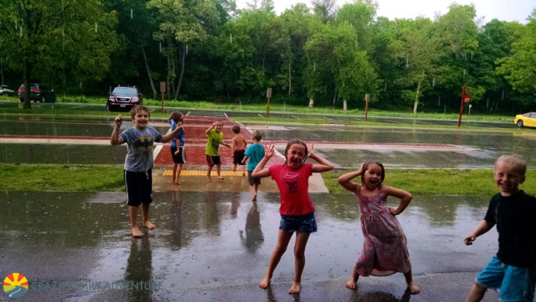 Can we dance in the rain? YES!