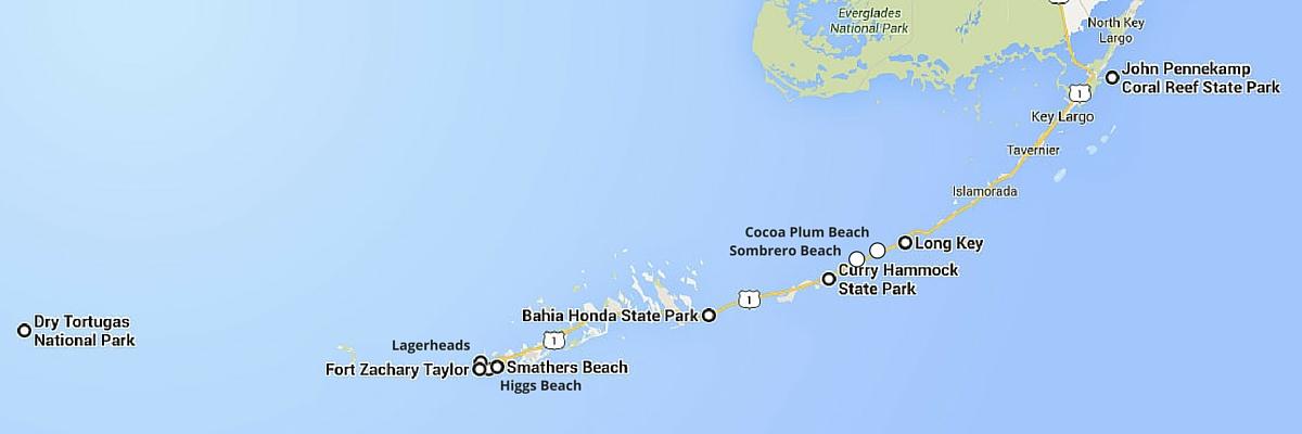 Top 10 Florida Keys Beaches  Crazy Family Adventure