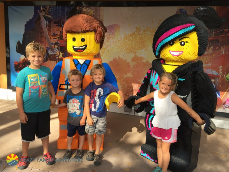 Meeting Emmett and Wildstyle at Legoland!