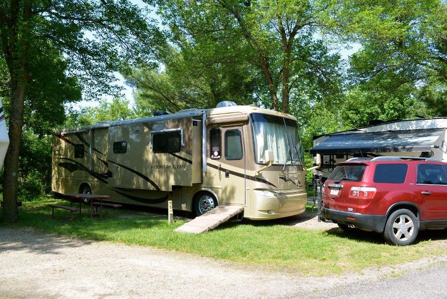 Campgrounds in Wisconsin Dells: KOA
