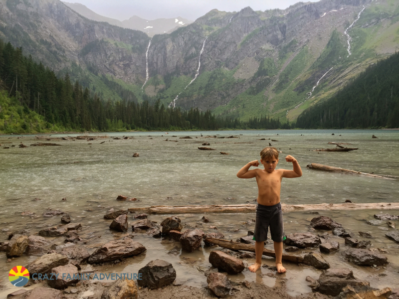 Cannon feeling strong after hiking to Avalanche Lake in Glacier National Park