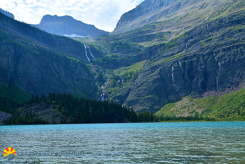 Grinnell Lake is #5 on our list of best hikes in Glacier National Park with kids