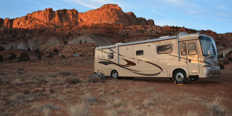 RV boondocking is a great way to camp for free and can offer some really great spots!