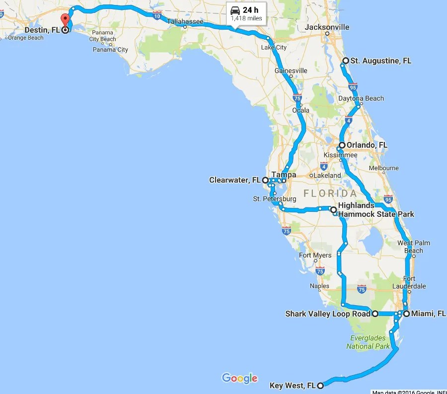The Ultimate Florida Road Trip 31 Places Not To Miss