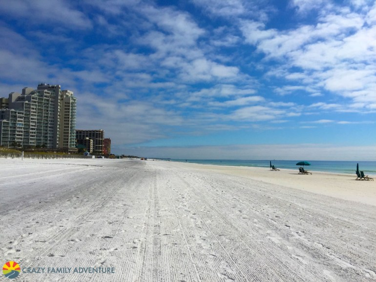 Destin has some of the best beaches to visit on The Ultimate Florida Road Trip