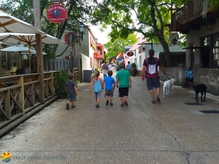 Hit St. George Street in St. Augustine on The Ultimate Florida Road Trip
