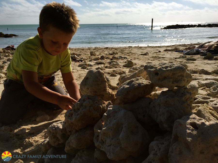 Fort Zachary Taylor Beach in Key West on The Ultimate Florida Road Trip
