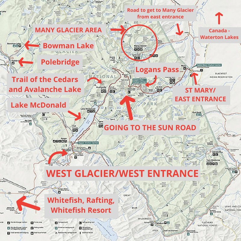 Worksheet. Things To Do In Glacier National Park  Crazy Family Adventure