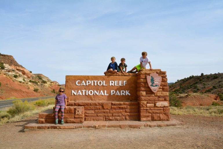 The next stop on the Utah Road Trip is Capitol Reef State Park