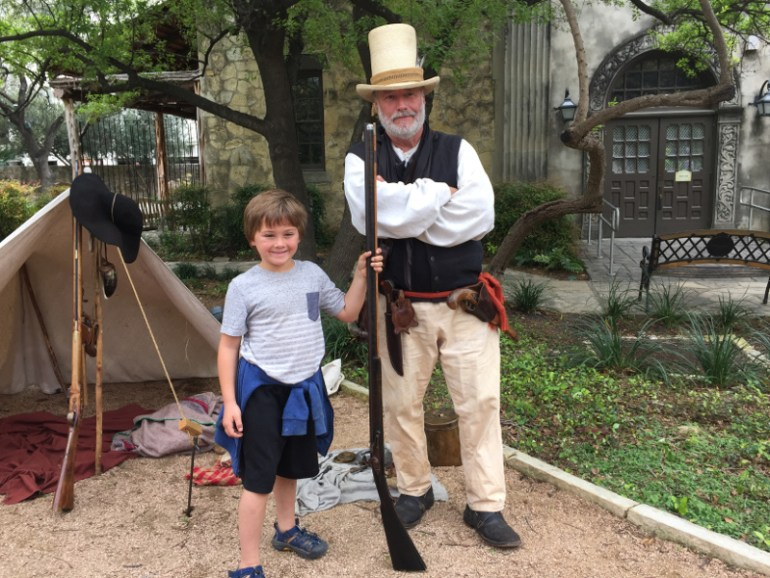 We learned history and saw just a really cool fort on this thing to do in San Antonio with kids.