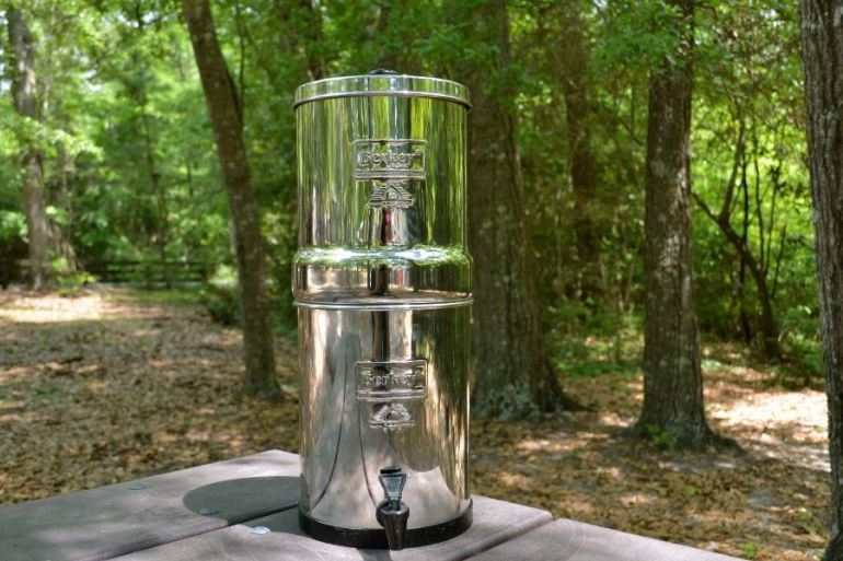 Berkey Water Filter - Our #1 Travel Accessory