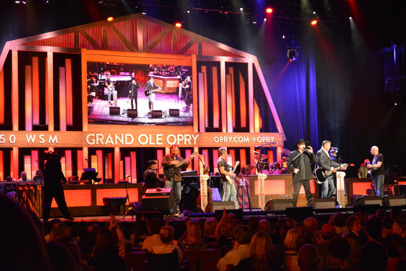 Montgomery Gentry performing at the Grand Ole Opry