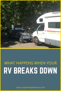 Come see what happens when your RV break downs on the highway while traveling with 4 kids and a dog and you have no car and no plan!