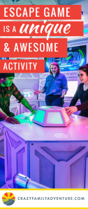 Looking for a fun and unique family activity? Check out Escape Games! Escape the room games are perfect and fun for the whole family. The escape game is designed for intense cooperation which is a great activity for families.