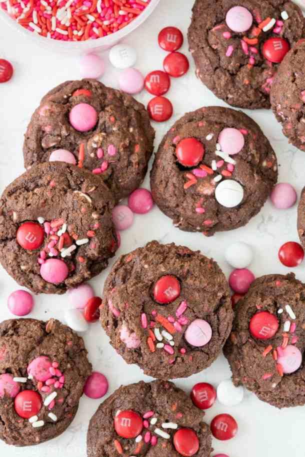 Easy Very Valentine Pudding Cookies Recipe