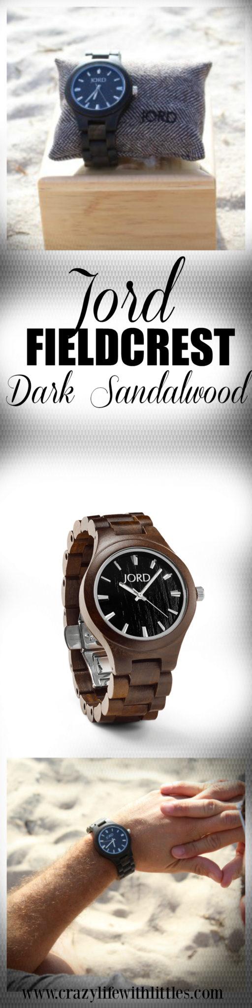 Jord Fieldcrest Sandalwood Men's Watch