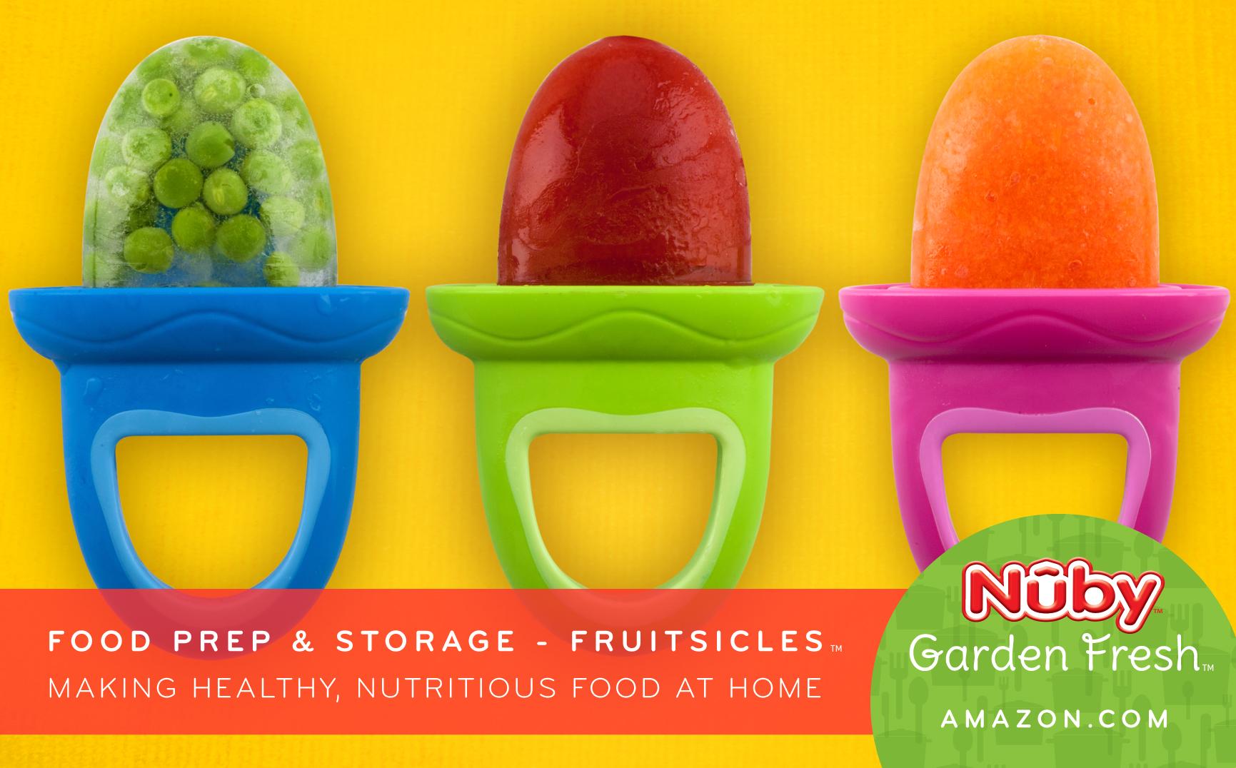 Nuby's Garden Fresh Fruitsicles