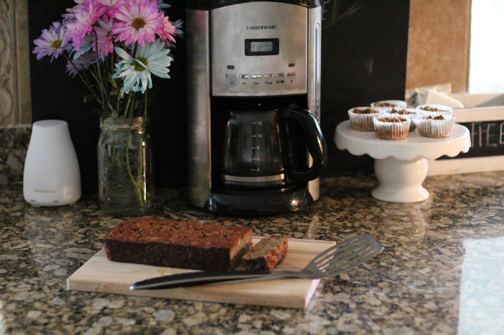 Sweet Potato Apple Cinnamon Muffins and Loaf Cake