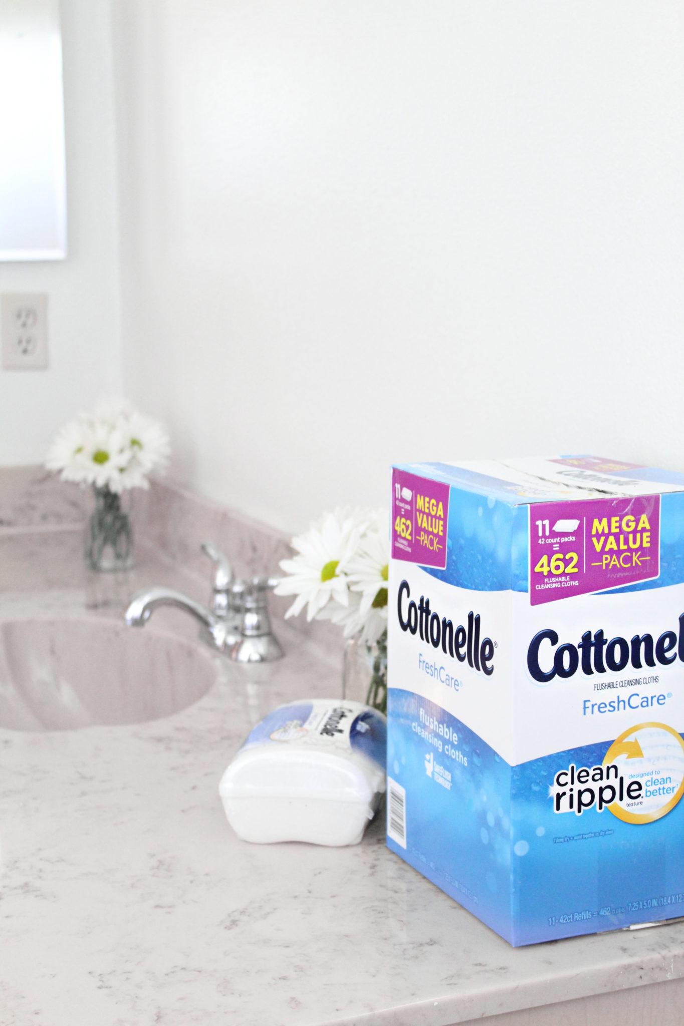 Cottonelle FreshCare Flushable Wipes