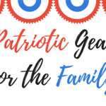 RED WHITE & BLUE PATRIOTIC GEAR FOR THE FAMILY