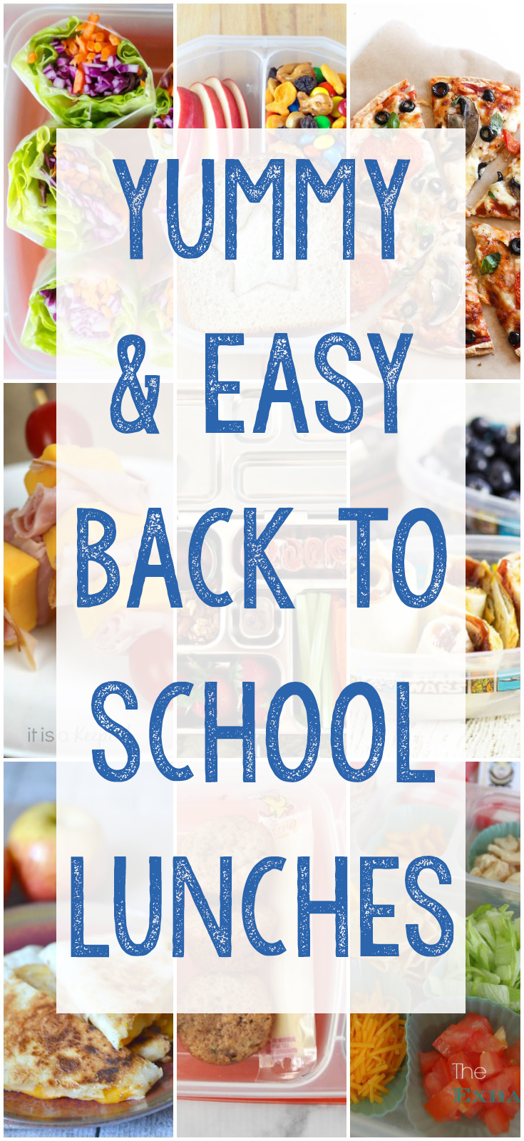 17 Yummy and Easy Back to School Lunches for Kids, Back to School, Daycare Lunch Ideas, Preschool Lunch Box Meals