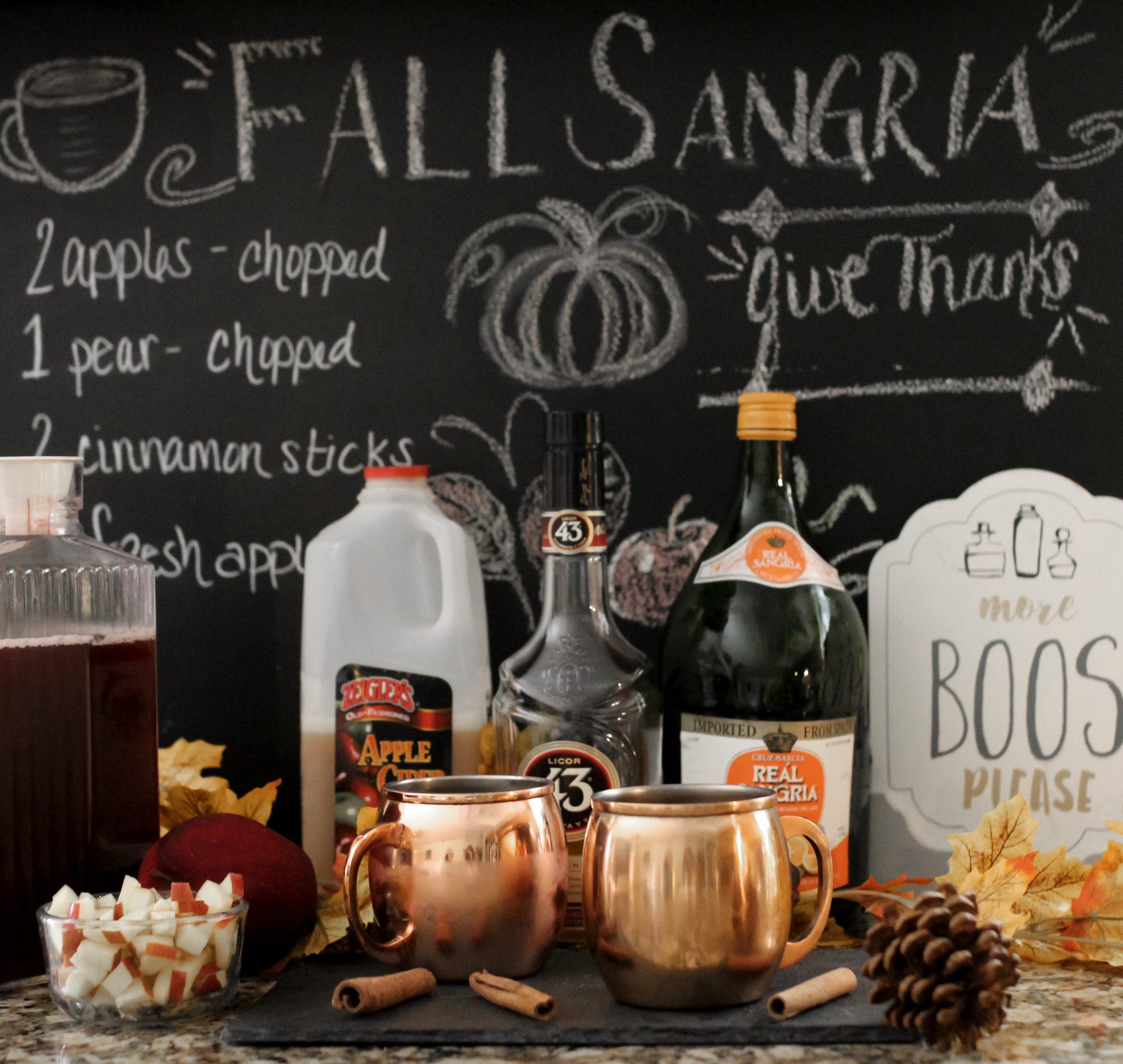 fall sangria with apple cider, honeycrisp apple sangria, fall sangria fireball, fall sangria tasty, apple cider sangria with moscato, white wine apple cider sangria, autumn sangria azalea, white apple sangria