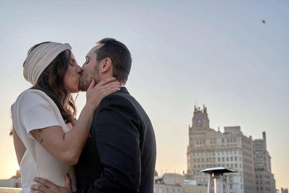 Crazy Love Shots fotógrafo de bodas en Valdebebas