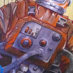 """""""Kosmonaut - Attack"""" Detail: Kontrollleiste"""
