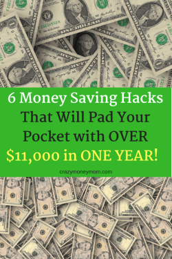 6 Money Saving Hacks to Pad Your Pocket with $11,000 in a Year