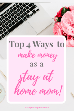 Best Ways for stay at home moms to make money