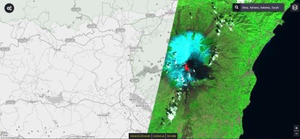 2017-03-16 etna - spektrum podczerwieni_ESA_Sentinel2_EO Cloud