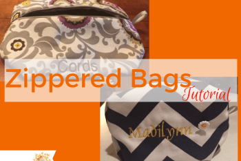 Zippered Bags! A Tutorial