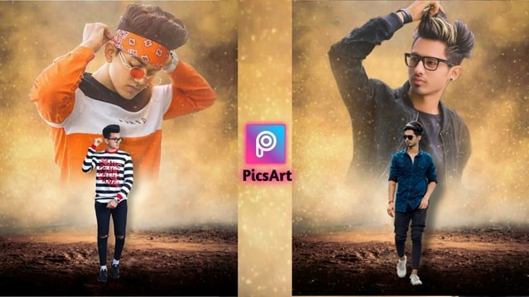 PicsArt Dual Photo Editing