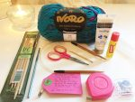 knitting on the airplane starts with planning