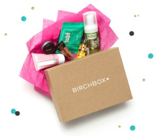 Birchbox beauty subscription service