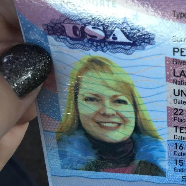 Got my new passport today I applied as a blondehellip