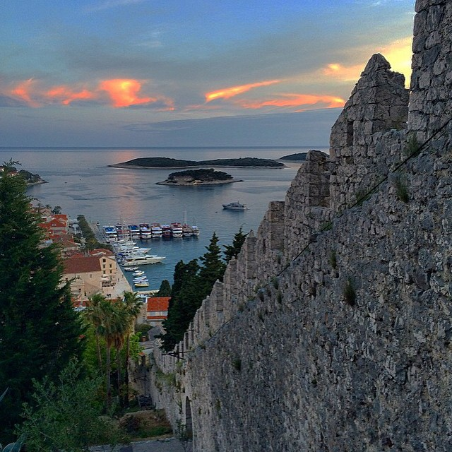 From the hike to Hvar Fortress