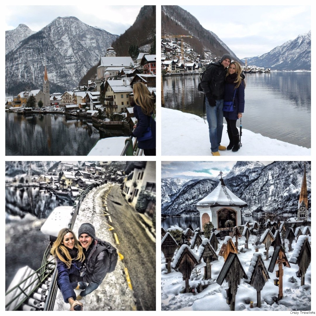 Hallstatt, Austria in winter