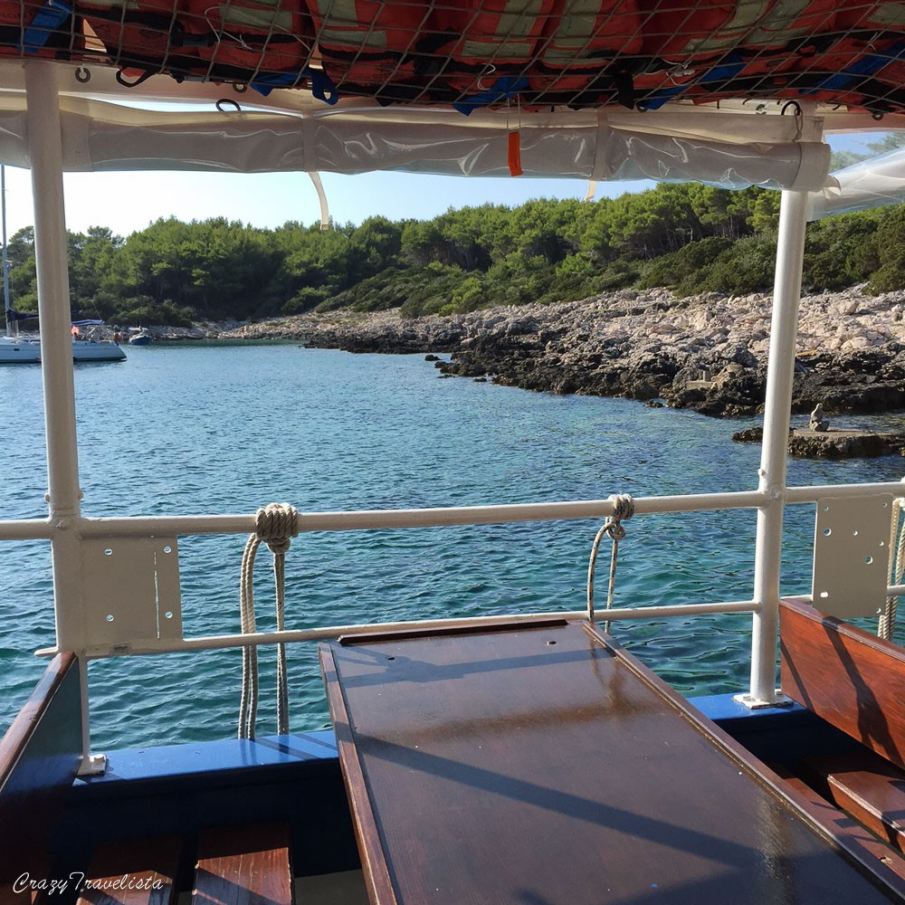 Proizd island boat