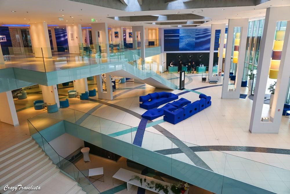 Lobby at Radisson Blu Split