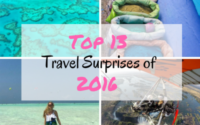 Top 13 Travel Surprises of 2016 (that may inspire your 2017 travels) + VIDEO