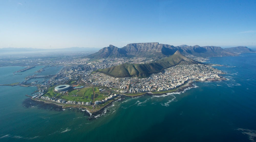 NAC helicopter tour Cape Town