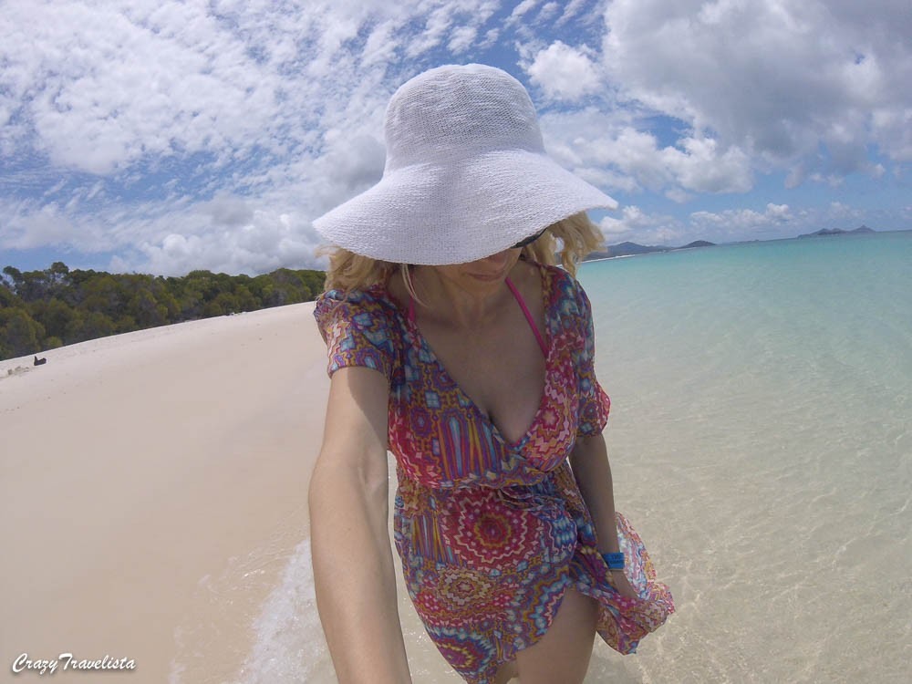 Whitehaven Beach GoPro
