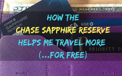 Why the Chase Sapphire Reserve is SO Worth the $450 Annual Fee (…Hear Me Out)