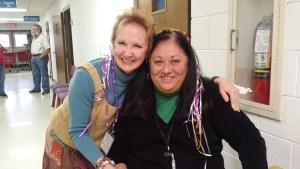 left: Sally Dixon; right: Janet McDaniel