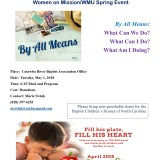 Women on Mission/WMU Spring Event