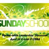 Sunday School Leadership Roundtable