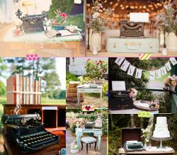 Máquinas de escribir vintage