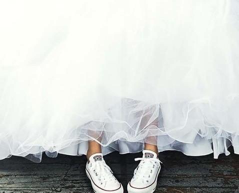 Zapatillas, la nueva tendencia para bodas